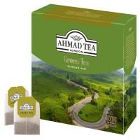 "Чай ""Ахмад Green Tea"" 100пак."
