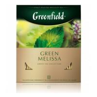"""Чай """"Greenfield Green Melissa"""" 100пак."""