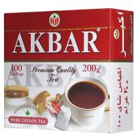"""Чай """"Akbar"""" 100пак."""