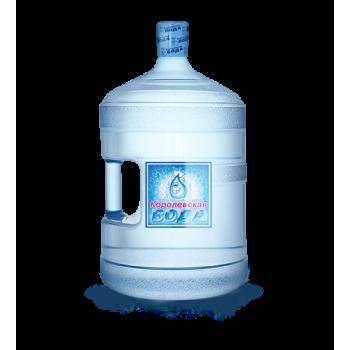 """Питьевая """"Королевская вода"""" 19 литров(первой категории)"""